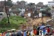 Mãe Luiza – lamentável episódio de deslizamento em bairro desfavorecido de infraestrutura básica<br />Foto Canindé Soares