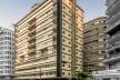 Edifícios Esther, local da primeira sede do IAB/SP. Projeto e edificação de 1934-1938, assinado pelos arquitetos Álvaro Vital Brazil e Adhemar Marinho<br />Foto Rafael Schimidt  [Fotoarquitetura]