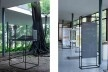 Exposição <i>Casas de vidro</i>, Instituto Bardi, São Paulo, curadoria de Renato Anelli<br />Foto Marina D'Império