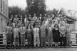Turma de Paulo Mendes da Rocha, 4oano, Anuário da Faculdade de Arquitetura Mackenzie, 1953<br />Foto divulgação  [Centro Histórico e Cultural Mackenzie]