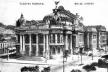Teatro Municipal na antiga Av. Central (hoje Rio Branco), cartão postal