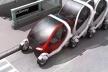Smart City Car, William Mitchell<br />Desenho de Franco Vairani  [MIT Media Lab / William J. Mitchell]