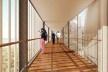 Concurso Anexo da Biblioteca Nacional, perspectiva, Rio de Janeiro, 2º lugar, arquitetos Eduardo de Almeida, Helena Ayoub, Cesar Shundi Iwamizu<br />Imagem divulgação