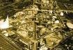 Vista aérea da Expo'70. Fonte: OSAKA – 1970. (acessado em 16/12/01) <http://www.geocities.com/Paris/Tower/9826/f2-1970.html>