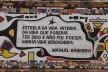 Detalhe do Muro da Escola Estadual Dr. Genésio Cândido Pereira<br />Foto Bianca Siqueira Martins Domingos