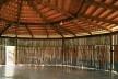 Igreja Espírito Santo do Cerrado, Uberlândia. Arquiteta Lina Bo Bardi<br />Foto Nelson Kon