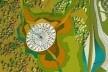 Planta NINHO – Núcleo de Integração Natural de Humanos e Ornitologia<br />Imagem dos autores do projeto