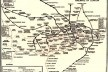 Mapa do metrô de Londres, 1924 [p. 317 do livro]