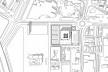 Caja Granada, implantação, Granada, Andaluzia, Espanha, 2001. Arquiteto Alberto Campo Baeza<br />Modelo tridimensional Miguel Pastore Bernardi / Imagem Edson da Cunha Mahfuz