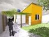 Perspectiva de uma residência projetada pelo programa