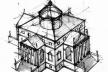 Fig. 3: Villa Capra (La Rotonda) de Palladio (1566-1571) [digart.img.digart.pl/data/img/94/25/miniaturki400/416491.jpg]