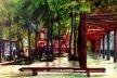 Praça<br />Imagem dos autores do projeto