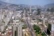 Caracas. Vista geral da Avenida Bolívar, nos anos noventa. Intervenção do Arq. Carlos Gómez de Llarena<br />Foto Segre