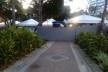 O interior da praça Campo Grande ocupado pelas instalações de apoio para o carnaval. As vias que são normalmente utilizadas por moradores da cidade para corrida e caminhada se encontram interditadas<br />Foto Volha Yermalayeva Franco