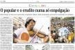 Jornal O Globo, trecho de página, 6 de março de 2011