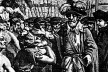 Chegada de Tomé de Sousa à Bahia, gravura de começo do século XIX [Wikipedia]