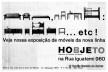 Anúncio para revistas da Hobjeto com o primeiro logotipo da empresa, Geraldo de Barros, 1964<br />Acervo Geraldo de Barros  [© Fabiana e Lenora de Barros]