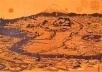 Fig. 1 – Xilogravura de Edo, renomeada como Tóquio, feita no início do século XIX  [TSUNEYOSHI, Tsuzumi. Die Kunst Japan. Leipzig: Insel Verlag, 1929, p. 51]