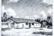 Casa do Tatuapé em gravura de R. Mertig, 1936 - primeiro documento iconográfico da casa [Livro resenhado, p. 203]