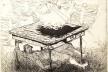 Gravura de Daniel Pizani, exposição <i>O estado da arte no ofício</i><br />Imagem divulgação