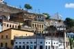 Centro Histórico de Salvador, cidade baixa, aspecto de casarões na encosta da Ladeira da Montanha<br />foto Fabio Jose Martins de Lima