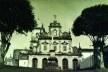 Fachada principal do Convento de Santo Antônio, Cairu BA, década de 1940/1950<br />Foto Edgard Antunes  [Iphan, 7aSR – Salvador, Série Igrejas e Conventos, Cairu. Cx 11.2]
