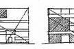 Tracés Régulateurs da fachada frontal da Villa Stein. Fonte: PADOVAN, Richard. Proportion