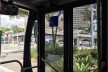 Paço municipal de Santo André visto do ônibus elétrico<br />Foto Abilio Guerra