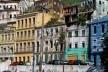 Centro Histórico de Salvador, cidade baixa, outro aspecto de casarões na encosta<br />foto Fabio Jose Martins de Lima