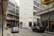 Centro Comercial do Bom Retiro, interior da quadra, São Paulo. Arquiteto Lucjan Korngold<br />Foto Abilio Guerra