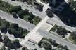 Imagem aérea da travessia do Setor Bancário Sul. Concurso Passagens sob o Eixão. Menção honrosa 03<br />divulgação