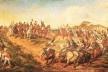 """Pedro Américo, """"Independência ou Morte"""". A pintura de 1888 retrata de forma idealizada a proclamação da independência por D. Pedro I em 7 de setembro de 1822<br />Imagem divulgação  [Museu Paulista da USP]"""