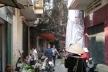 Hanói, ruela próxima ao túnel do tempo <br />Foto Lucia Maria Borges de Oliveira