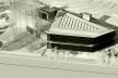 Centro de Referência em Empreendedorismo do Sebrae-MG, vista geral do conjunto, 3º lugar. Arquiteto Enrique Hugo Brena, 2008<br />Foto divulgação