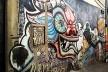 """Grafite em La Paz/Bolívia, presente a figura da """"cholita""""<br />Foto Adriana Idalina Rojas Gutierrez"""