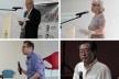 III SAMA, conferencistas (em sentido horário): Alcyr Meira (UFPA), Ana Lúcia Vieira dos Santos (UFF), Fernando Luiz Lara (UFMG/UT) e Hugo Segawa (USP)<br />Foto Rebeca Ferreira  [LAHCA-FAU/UFPA]