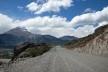 Estrada entre Coyhaique e Puerto Rio Tranquilo<br />Foto Diana Souza