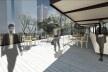 Museu da Diversidade Sexual, bar do terraço. Hereñú + Ferroni Arquitetos, 2014<br />Imagem divulgação