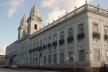 Santa casa de Misericórdia, cujo um dos projetos de ampliação esteve nas mãos de Izella e Marcucci, iniciado em 1861 e concluído, provisoriamente, em 1887
