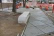 Vista do Playground em construção<br />Imagem dos autores do projeto