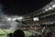 Torcida dentro do estádio de Yokohama<br />Foto Roberto Abramovich