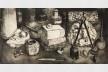 Gravura de George Rembrandt Gutlich, exposição <i>O estado da arte no ofício</i><br />Imagem divulgação