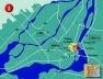 Cidade Multimídia em Montreal, mapa da região [CDTI – Information Technology Development Centres]