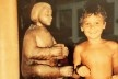 Menino porteiro do Museu de Santa Quitéria de Frexeiras, Estado de Pernambuco, 1993<br />Foto José Lira