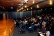 "Conferência de Fernando Diez, da Argentina, ""Clorindo Testa y su Obra, no Auditório Maria Montessori<br />Foto Michelle Schneider"
