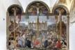 Crucificação, de Donato Montorfano, 1495, parede sul do refeitório da Igreja S. Maria delle Grazie, Milão<br />Foto Victor Hugo Mori