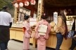 Templo Kiyomizudera, gueixas visitando, Kyoto<br />Foto Roberto Abramovich