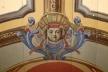Detalhe pintura do forro