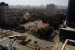 Oficina de desenho urbano MCB, inserção urbana do Museu da Casa Brasileira: arborização e gabarito baixo do bairro, São Paulo, 2011<br />Foto Camila Dias e Gustavo Mascarenhas