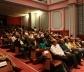 Platéia da cerimônia de abertura do Foro de Quito<br />Fotos Abilio Guerra e Silvana Romano Santos